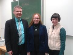 Jochen Diel (JSG), Fabienne Leboulanger (Dessauer Gymnasium), Sina Pliess-Höfer (JSG)