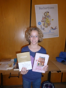 Lesebegeisterte Siegerin: Paula G., 6b