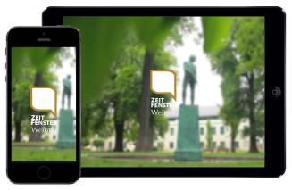App Zeitfenster Weimar
