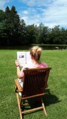 Lesen am See